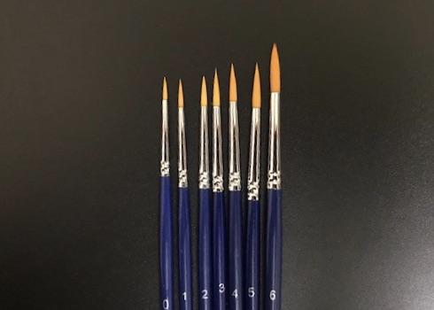 DFX Budget 7 pcs Rd Brush Set