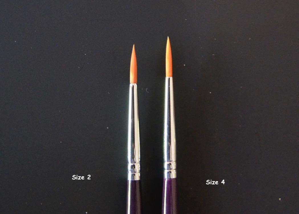 DFX Professional Brush #4 Round