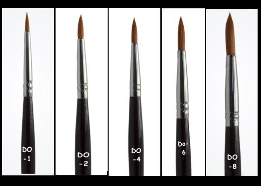 DFX Professional Brush Set 5 pcs