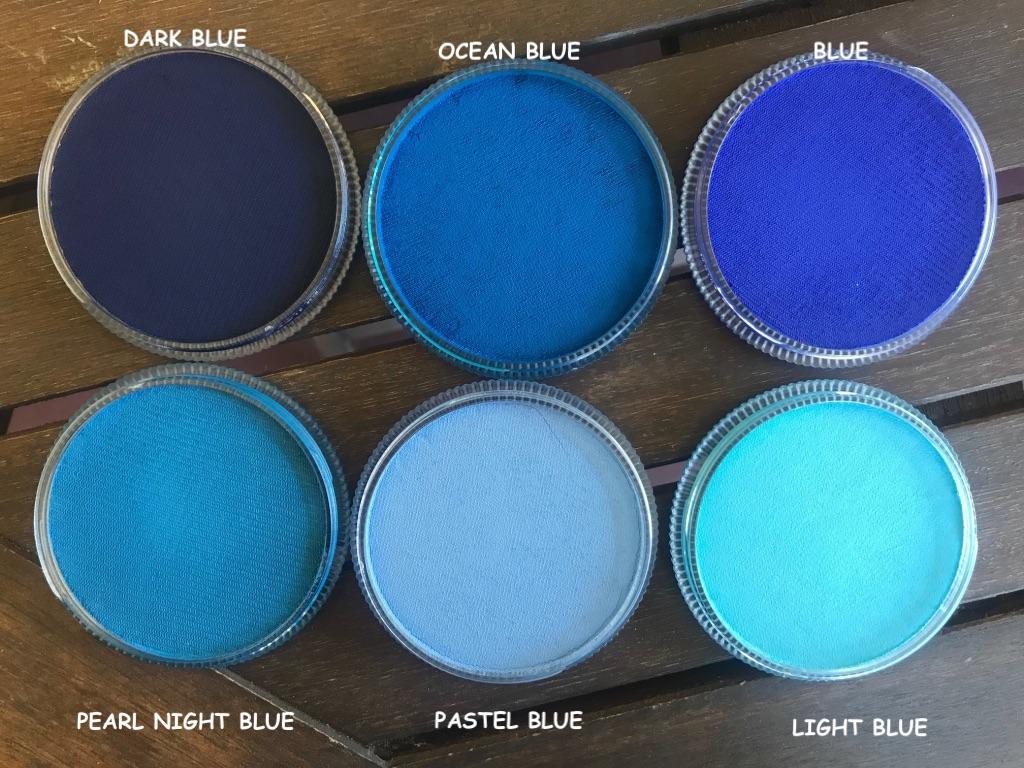 Pearl Night Blue - Matt - 30gram