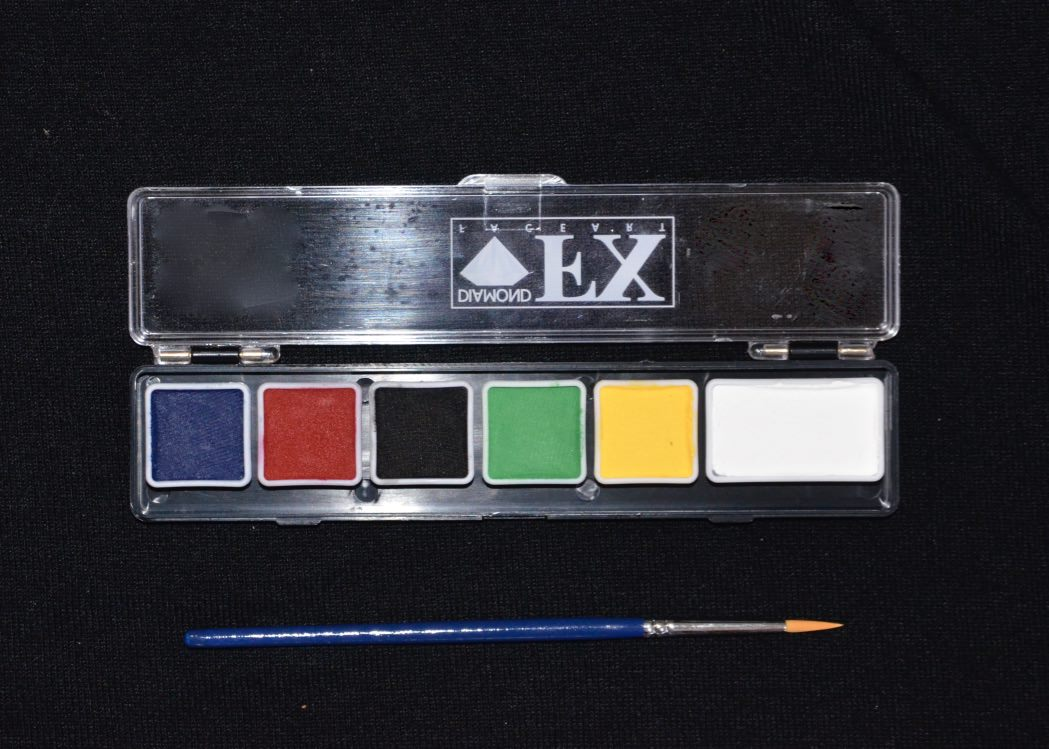 Mini Palette - 6 Colours - Essential Colours