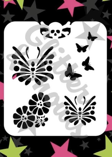 Glitter & Ghouls Butterflies