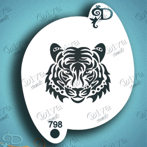 Diva - Tiger Face Tribal