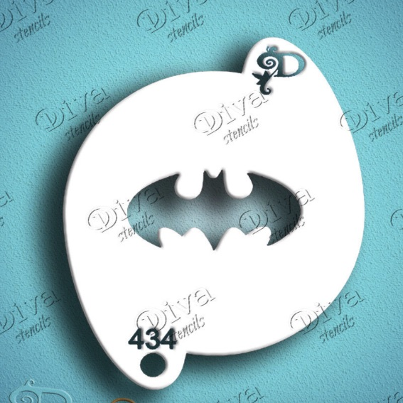 Diva - Bat Plain Symbol