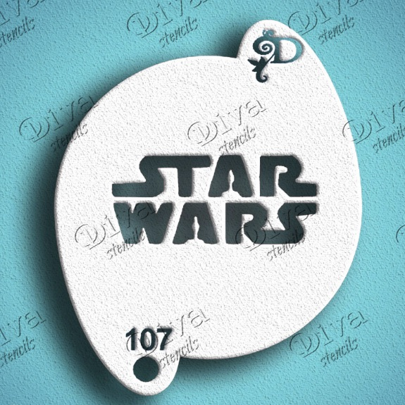Diva - Star Wars Logo Stencil