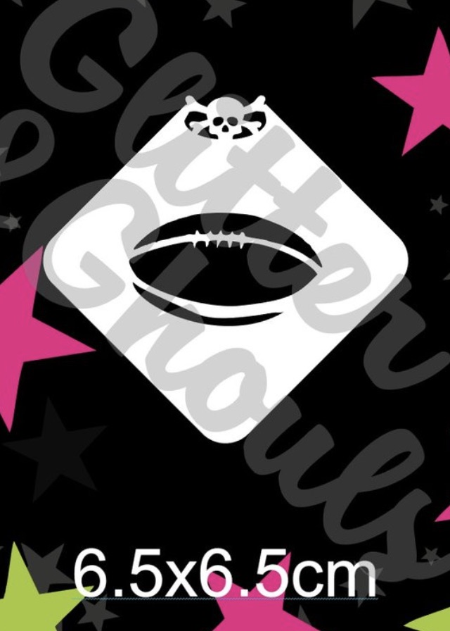 Glitter & Ghouls Football