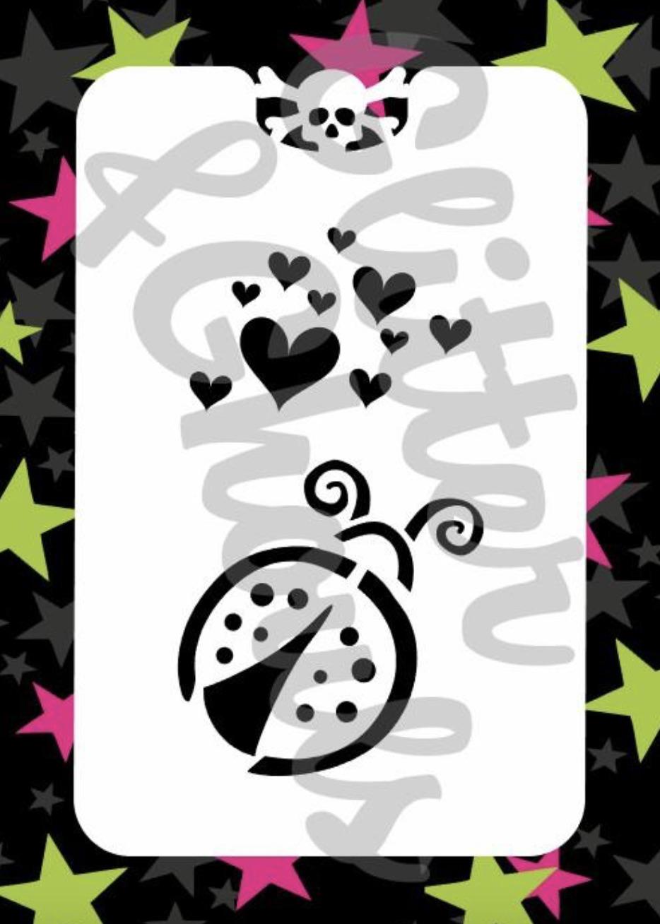 Glitter & Ghouls Ladybug
