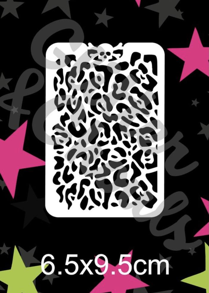 Glitter & Ghouls Leopard Print