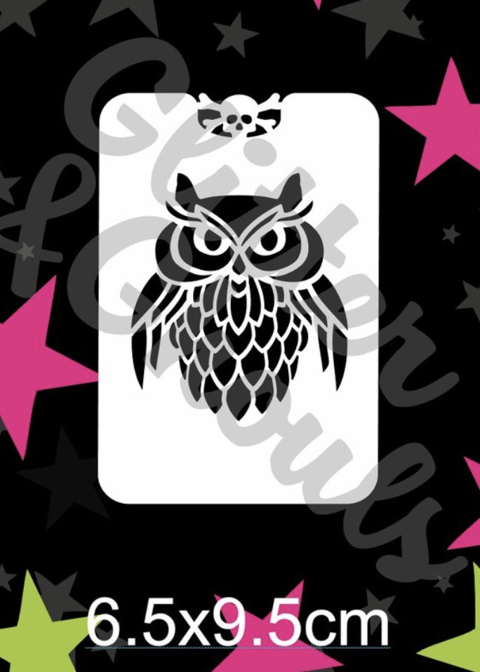 Glitter & Ghouls Owl