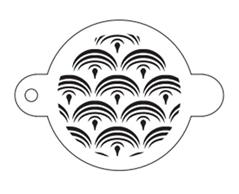 Tap Stencil - Mermaid Scales