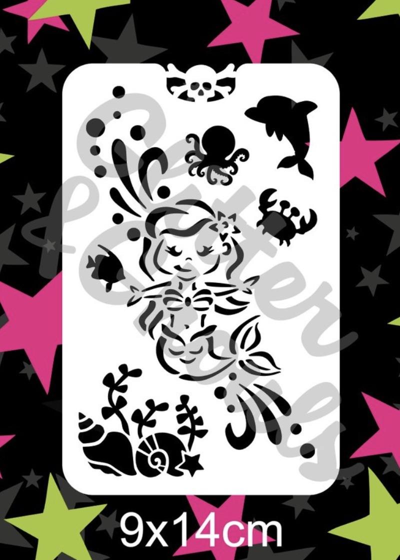 Glitter & Ghouls Mermaid Sleevos