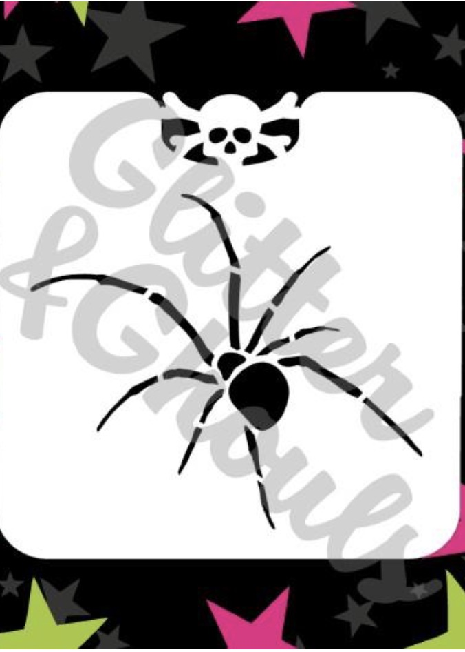 Glitter & Ghouls Mini Spider