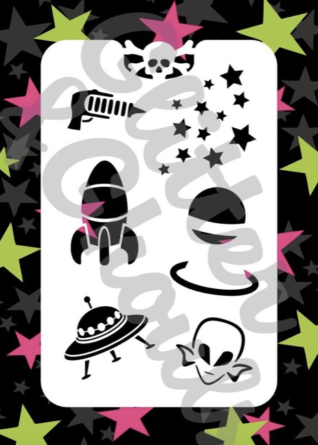 Glitter & Ghouls Outta Space