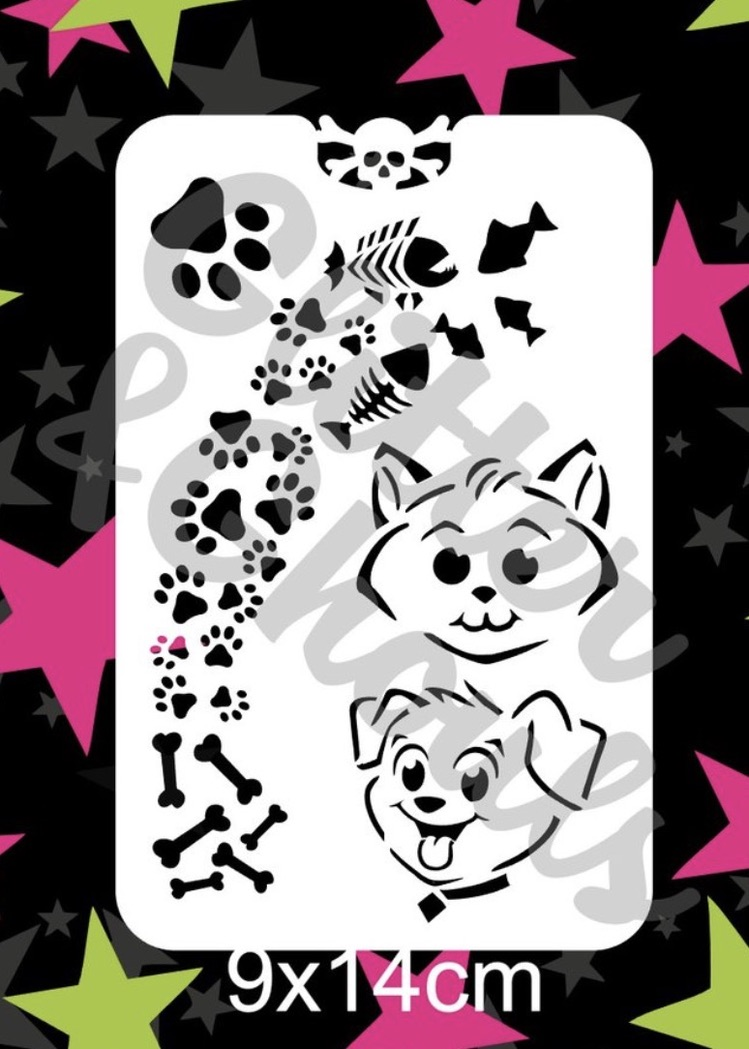 Glitter & Ghouls - Paws Prints