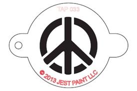 Stencil - Peace Sign