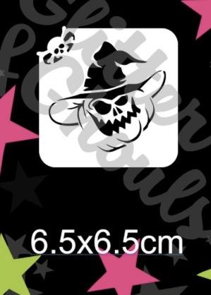 Glitter & Ghouls Pumpkin Witch