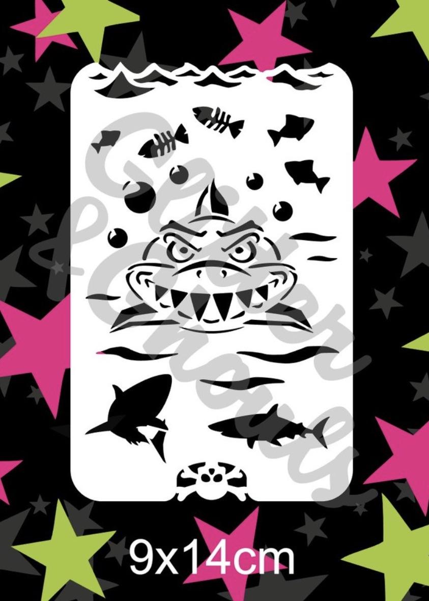 Glitter & Ghouls Shark Sleevos