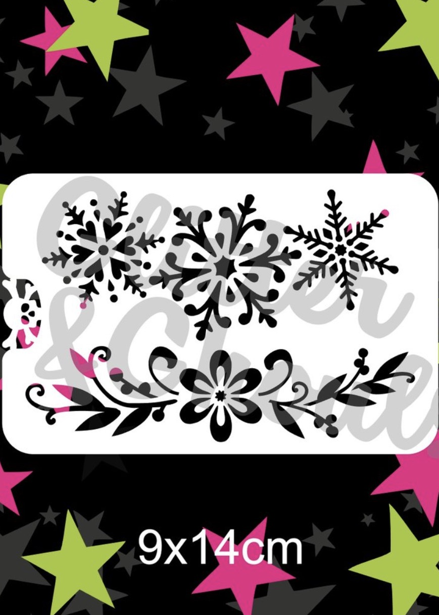 Glitter & Ghouls Snowflakes & Flourish Crown