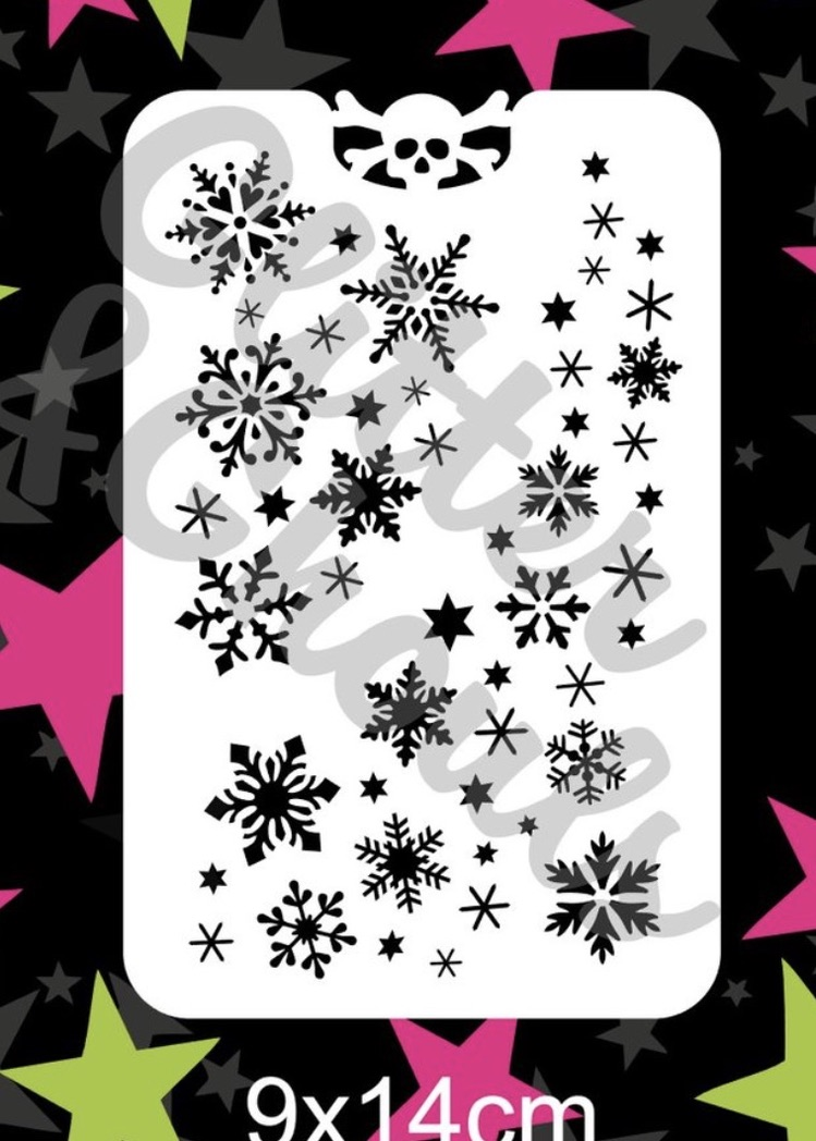 Glitter & Ghouls Snowflake Blizzard