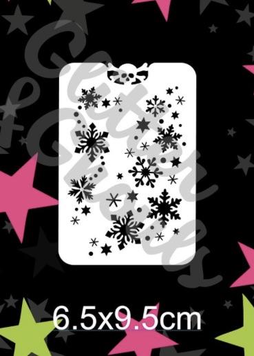 Glitter & Ghouls Snowflake Sprinkle