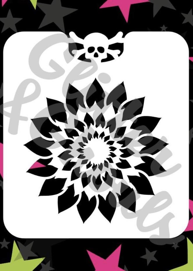 Glitter & Ghouls Sunflower
