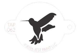 Stencil - Humming Bird
