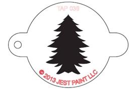 Stencil - X-Mas Tree
