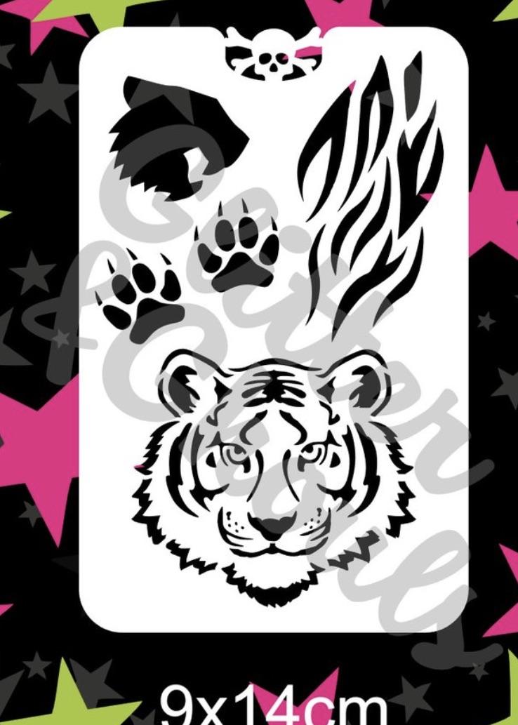 Glitter & Ghouls Tiger Sleevo