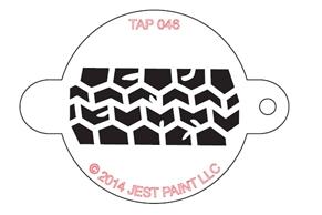 Stencil - Tire Track