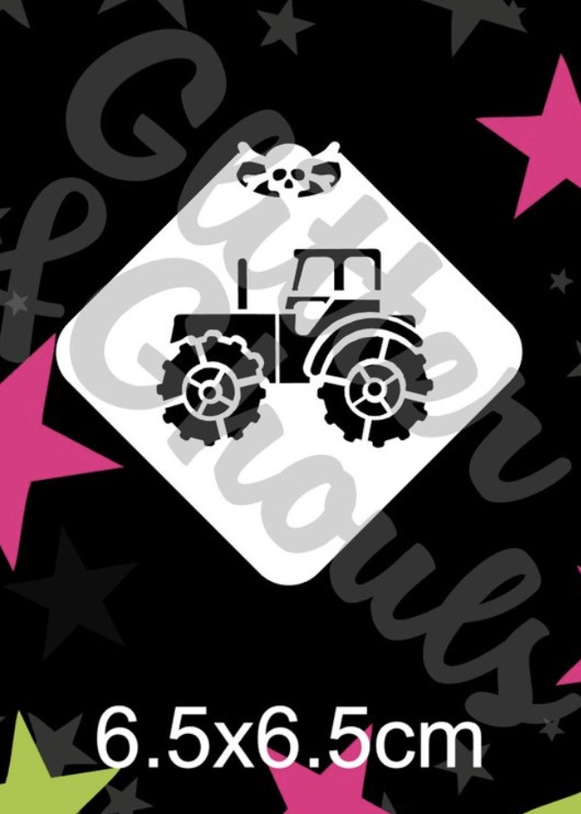 Glitter & Ghouls Tractor