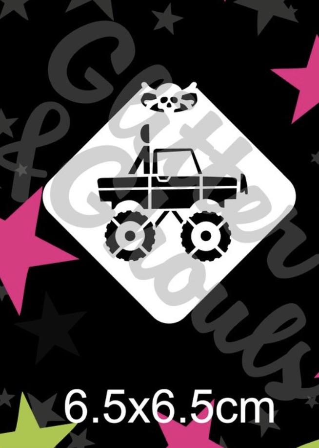 Glitter & Ghouls Truck 4 X 4