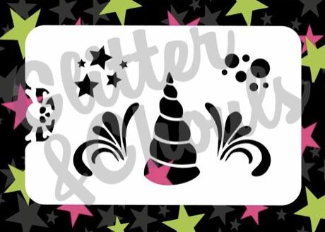 Glitter & Ghouls Unicorn Horn