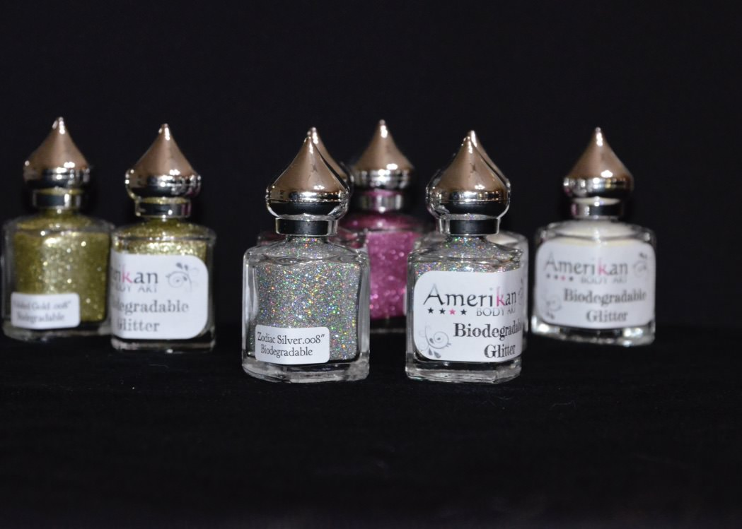 Biodegradable Cosmetic Glitter - Zodiaco Silver