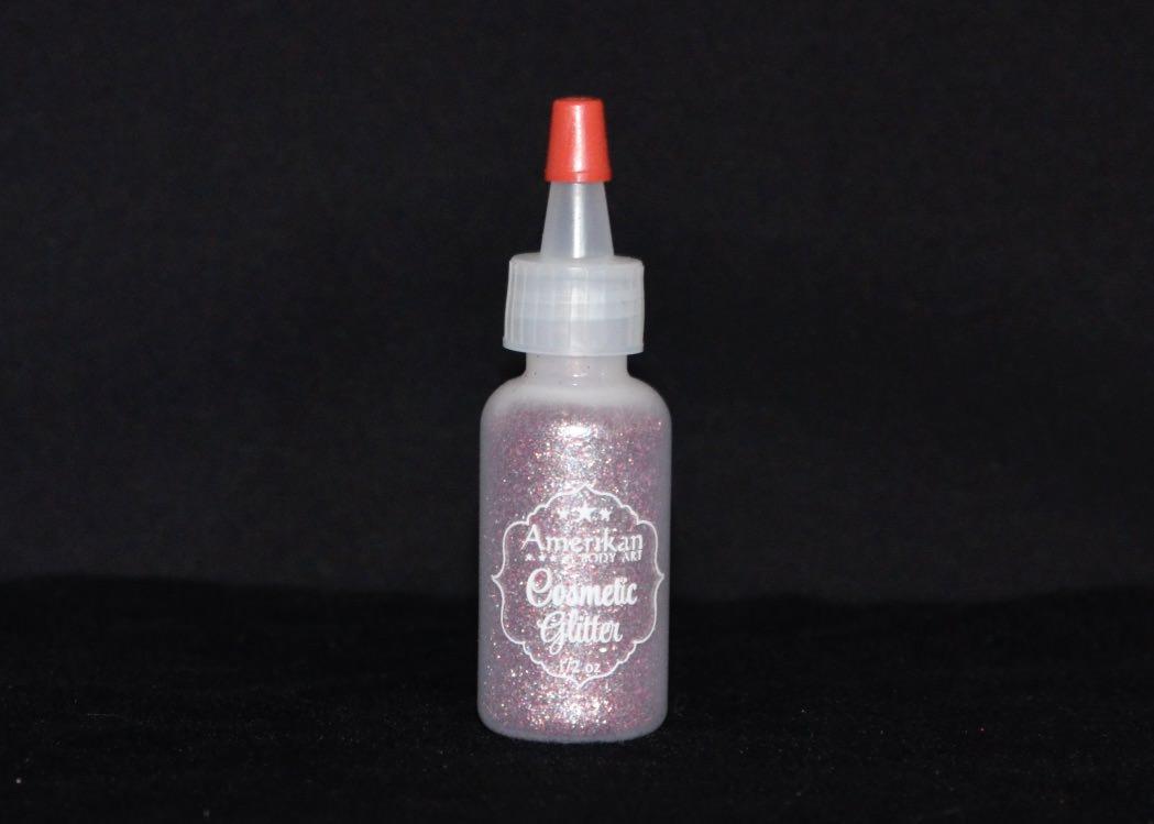 Amerikan Body Art Glitter - Princess Pink 1/2oz
