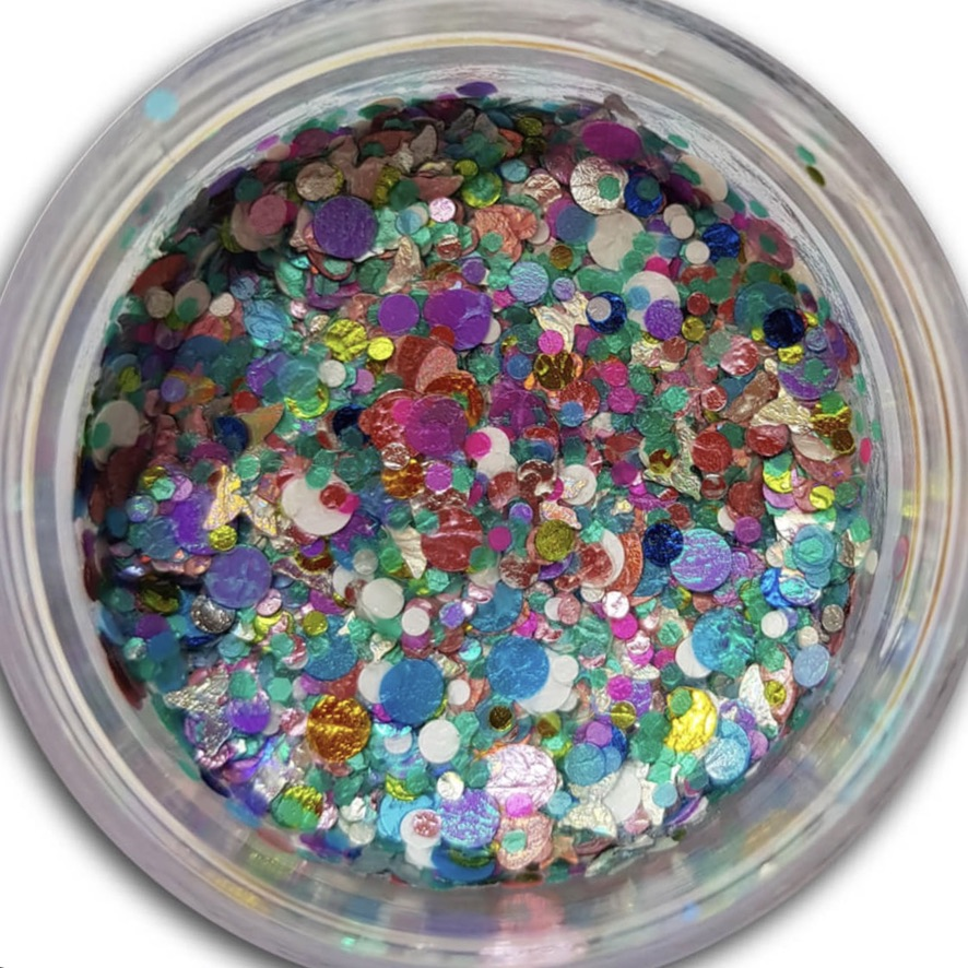 Essential Glitter Balm - UV Fairy Wings 10gm