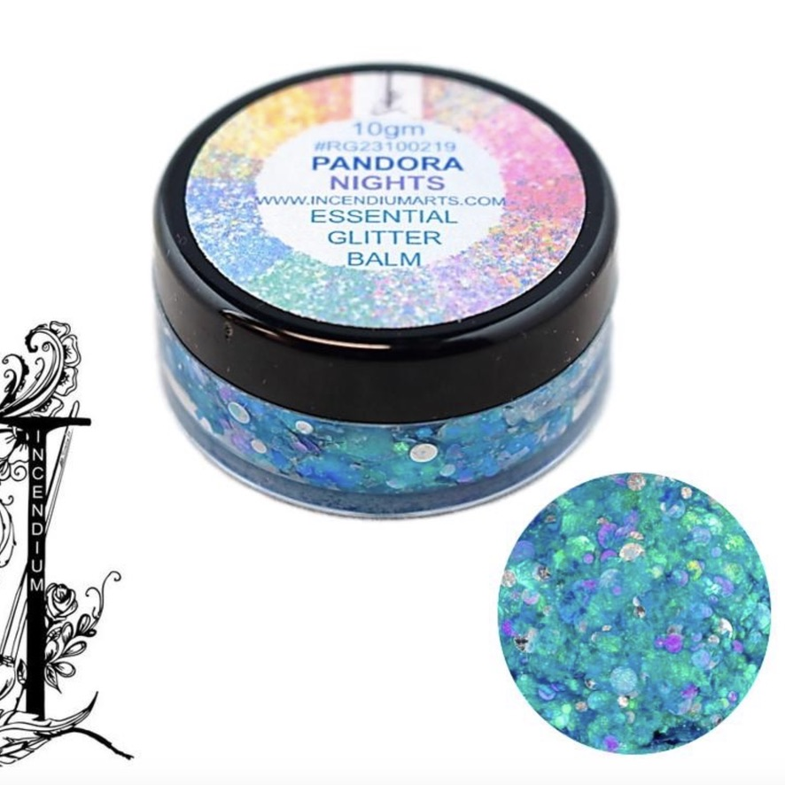 Essential Glitter Balm - Pandora Nights 10gm