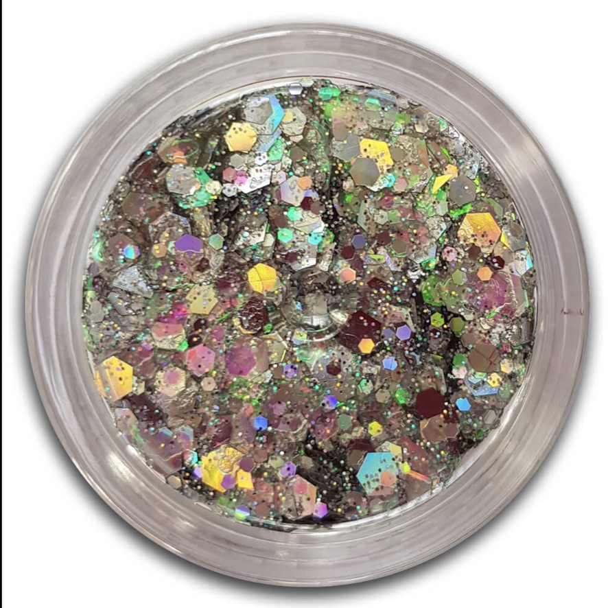 Essential Glitter Balm - Platinum 10gm