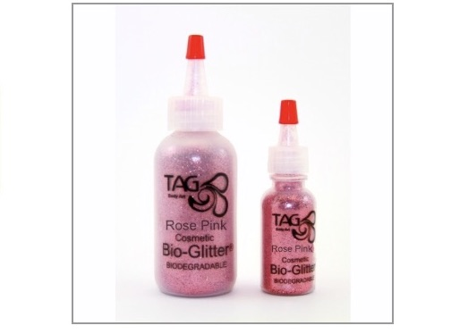 Tag Bio Cosmetic Glitter - Rose Pink