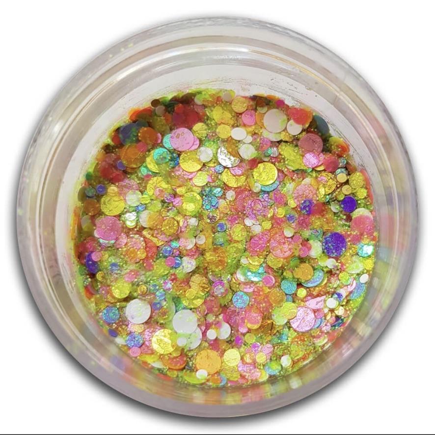 Essential Glitter Balm - UV Snow 5gm